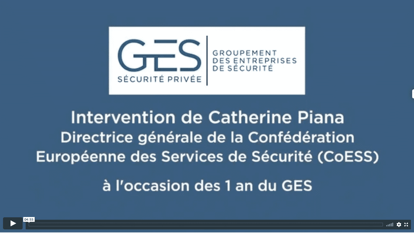 Interview de Catherine Piana - Directrice Générale de la CoESS