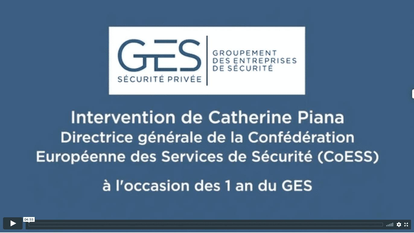 Interview de Catherine Piana - Directrice Générale de la CoESS